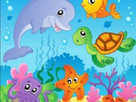 cartoons coi pesci