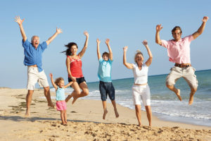 famiglia al mare 2